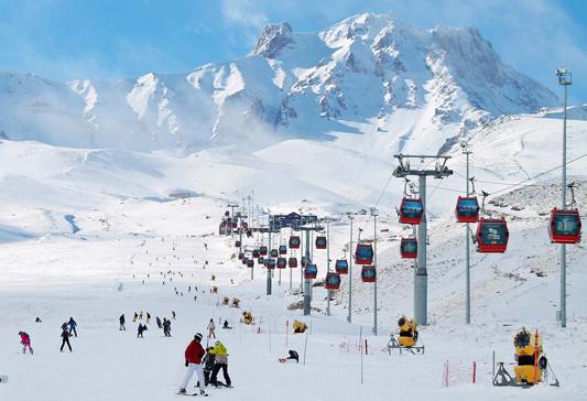 Erciyes Kayak Merkezi Teleferik Ücreti 3